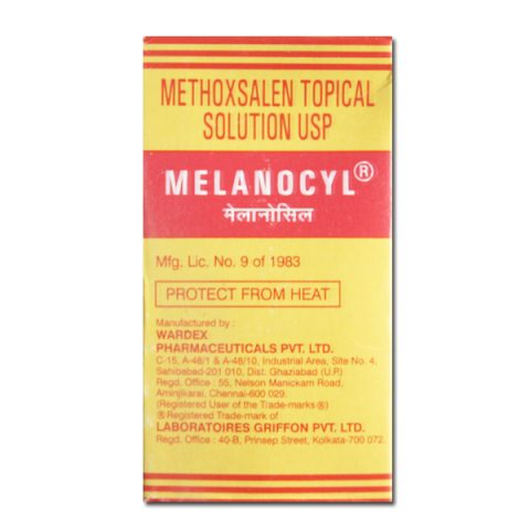 Methoxsalen Topical Solution USP